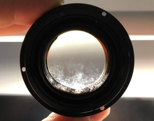 ニコン Nikon NIKKOR 50mm F1.2 Ai-s 各レンズにカビ付着