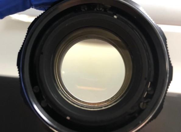 ペンタックス PENTAX ASAHI Super-Takumar 55mm F1.8 カビ除去