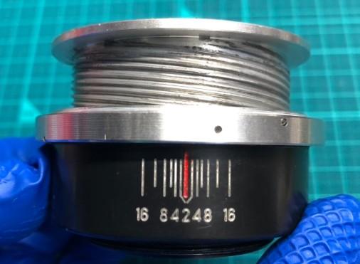 ロシア製 ジュピター JUPITER-9 MC 85mm F2 ヘリコイドグリース汚れ