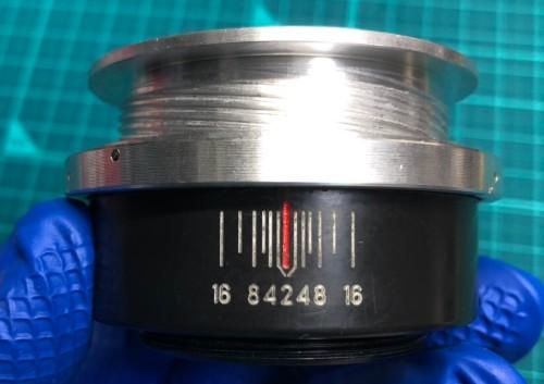ロシア製 ジュピター JUPITER-9 MC 85mm F2 ヘリコイドの古いグリースを除去