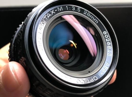 ペンタックス SMC PENTAX-M 28mm F3.5 カビを除去しました
