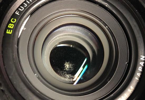 富士フィルム FUJIFILM GW690 III 6×9 Professional FUJINON EBC 90mm F3.5 カビ付着