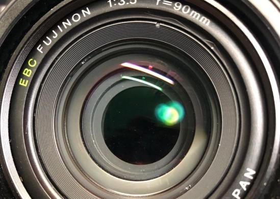 富士フィルム FUJIFILM GW690 III 6×9 Professional FUJINON EBC 90mm F3.5 カビを除去