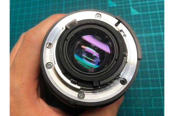 Nikon AF MICRO NIKKOR 60mm F2.8 D クモリ・カビありレンズを買取しました