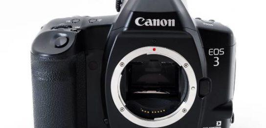 Canon キヤノン EOS3 フィルムカメラを買取りました