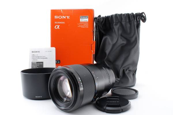 SONY ソニー α SEL9028G FE 90mm F2.8 Macro G OSSを買取りました