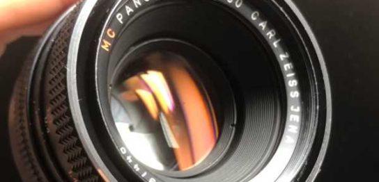 カールツァイス パンカラー Carl Zeiss JENA DDR MC PANCOLAR 50mm F1.8 ヘリコイドグリースを交換しました