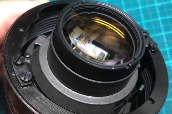 カールツァイス パンカラー Carl Zeiss JENA DDR MC PANCOLAR 50mm F1.8 ヘリコイドグリース清掃・交換