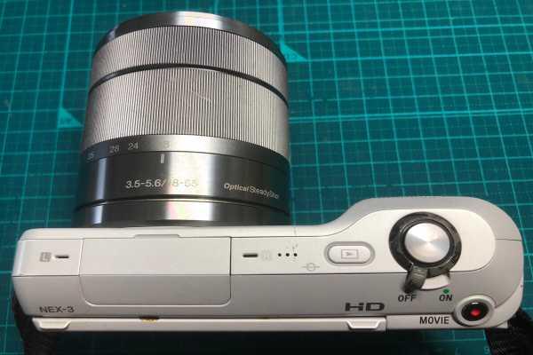 ソニー SONY NEX-3 ミラーレスカメラ レンズセット 充電不可品を買取りました
