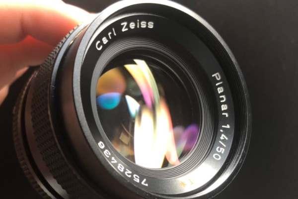 コンタックス Contax Carl Zeiss Planar 50mm F1.4 T MMJ カビ取りました