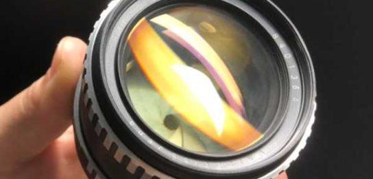 カールツァイス CARL ZEISS JENA PANCOLAR 55mm F1.4 絞り羽根を動作させました