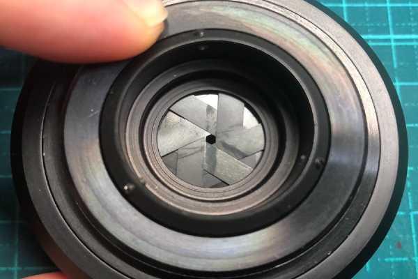ドミプラン Meyer-Optik Domiplan 50mm F2.8 ゼブラ M42 絞り羽根油染みあり