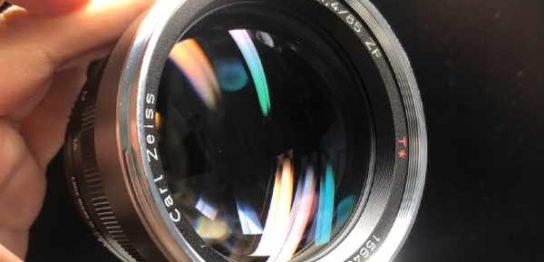 Carl Zeiss Planar T* 85mm F1.4 T ZF for Nikon Carl Zeiss Planar T* 85mm F1.4 T ZF for Nikon カビ取りました