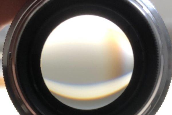 コンタックス CONTAX Zeiss-Opton Sonnar 50mm F1.5 RFマウント カビ除去