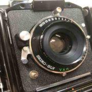 トプコン TOPCON HORSEMAN VH-R TOKYO KOGAKU 90mm F5.6 カビ取りました
