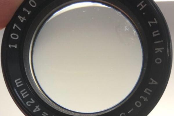 オリンパス Olympus H.Zuiko Auto-S 42mm F1.2 カビ除去