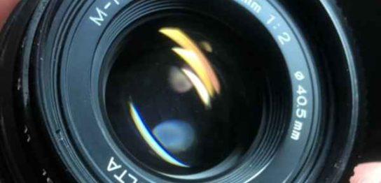 ミノルタ Minolta M-ROKKOR 40mm F2 for CLE CL Leica カビ・クモリ取りました