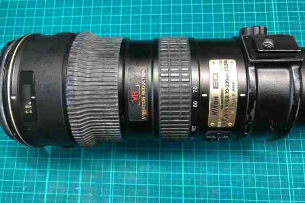 【レンズ買取】ニコン Nikon AF-S VR Zoom Nikkor ED 70-200mm F2.8G の動作不良(ピントリング連動せず)を査定しました
