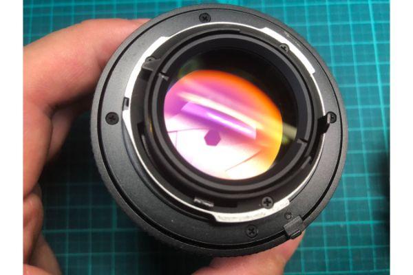 コンタックス Contax Carl Zeiss Planar 50mm F1.4 T MMJ クモリを除去しました