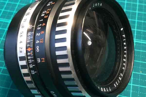 【レンズ買取】Carl Zeiss Jena Flektogon 35mm F2.8 のカビ、ヘリコイド重めを査定しました